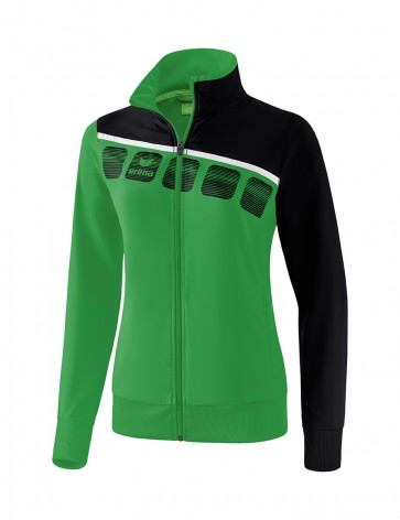 5-C Presentation Jacket - Women - emerald/black/white
