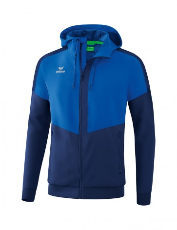 Squad Track Top Jacket with hood - Men - new royal/new navy