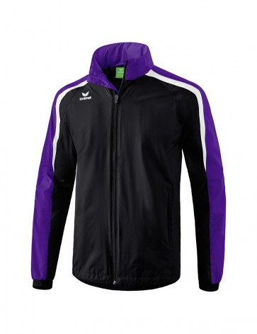 Liga 2.0 All-weather Jacket - Men - black/dark violet/white