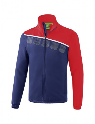 5-C Jacket with detachable sleeves - Men - new navy/red/white