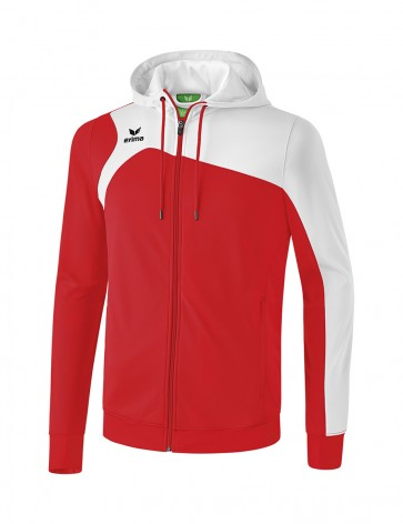 Club 1900 2.0 Training Jacket with Hood - Kids - red/white