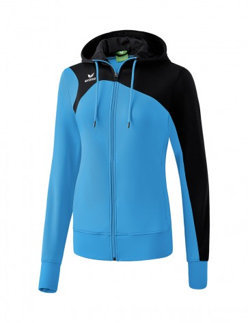 Club 1900 2.0 Training Jacket with Hood - Women - curacao/black