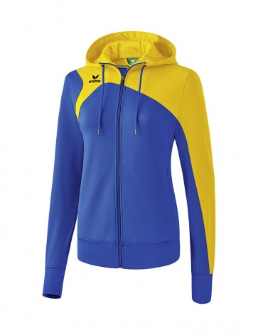 Club 1900 2.0 Training Jacket with Hood - Women - new royal blue/yellow