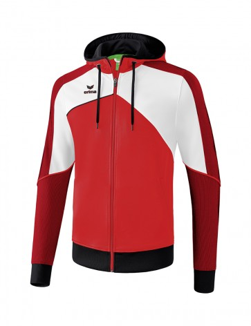 Premium One 2.0 Training Jacket with hood - Men - red/white/black