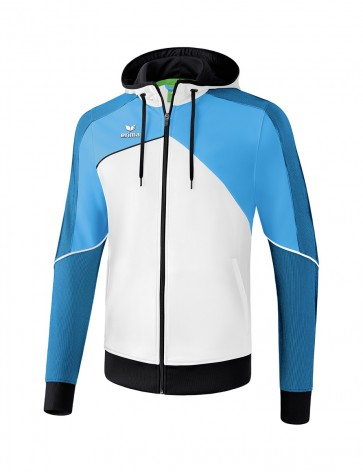 Premium One 2.0 Training Jacket with hood - Men - white/curacao/black
