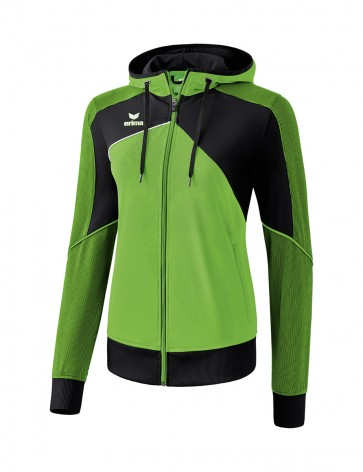 Premium One 2.0 Training Jacket with hood - Women - green/black/white