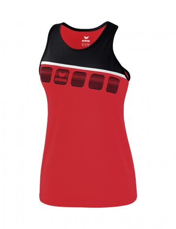 5-C Tank Top - Kids - red/black/white