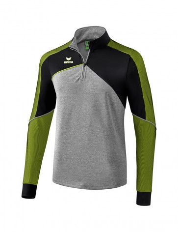 Premium One 2.0 Training Top - Men - grey marl/black/lime pop