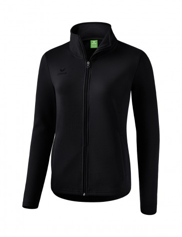Sweat jacket - Women - black