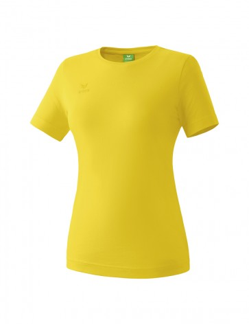 Teamsports T-shirt - Women - yellow