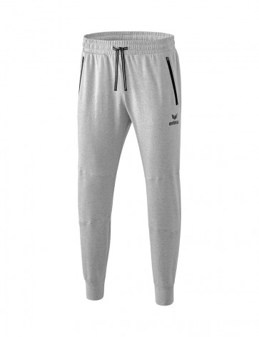 Essential Sweatpants - Men - light grey marl/black
