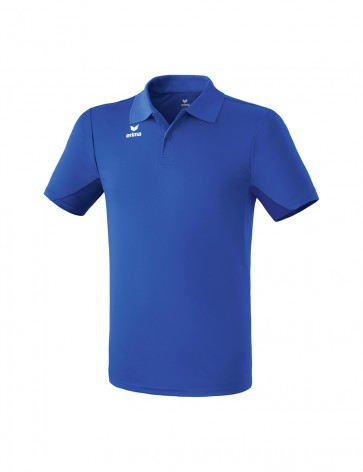 Functional polo-shirt - Men - new royal
