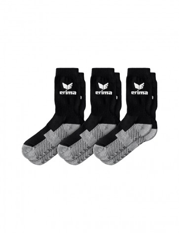 Sports Socks, 3 pairs - Men - black