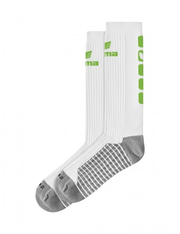 Classic 5-C Socks long - white/green