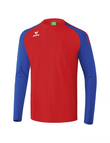 Tanaro 2.0 Long Sleeve Jersey - Kids - red/new royal blue