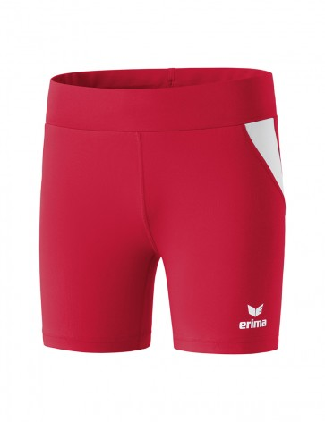 Tights short - Women - red/white