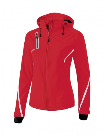 Softshell Jacket Function - Women - red/white