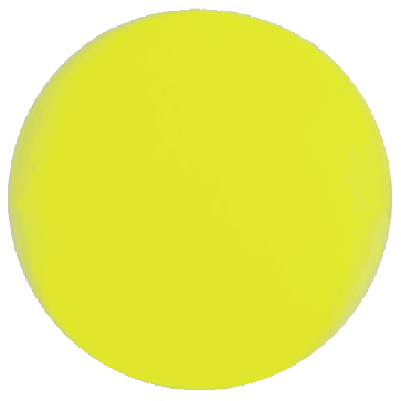 But buis Lyonnaise 36mm Jaune Fluo