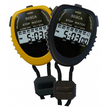 Large digital hand-held stopwatch