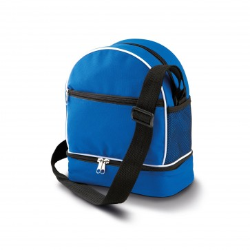 Petanque bag with triplet compartment - Blue