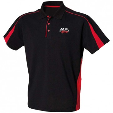 MS Pétanque Polo - shirt- adult - black