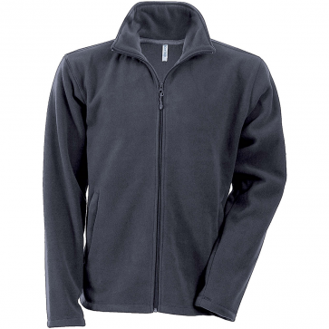 Men's Zip fleece Jacket Kariban K911-Gray