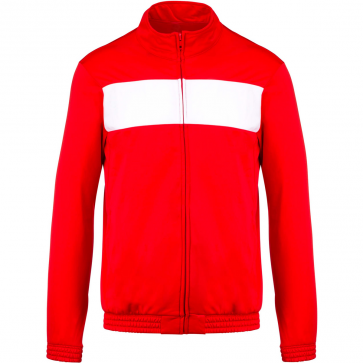 Tracksuit top - kids - sporty red/white