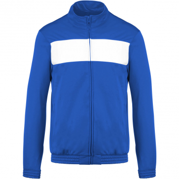 Tracksuit top - kids - sporty royal blue/white