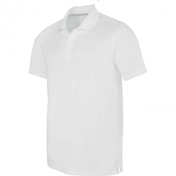 Short-sleeved polo shirt - men - white