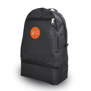 Petanqueshop backpack 6 balls black