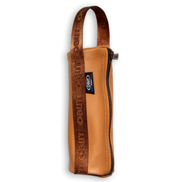 Obut Leather Bag for 3 Boules - Cognac