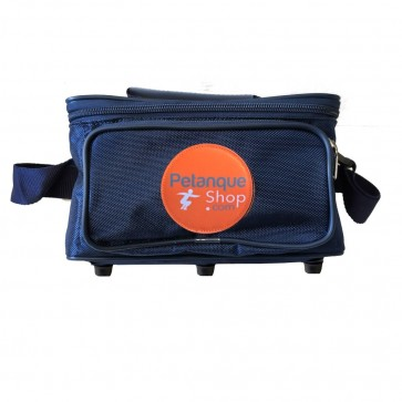 Petanqueshop bag 6 balls blue