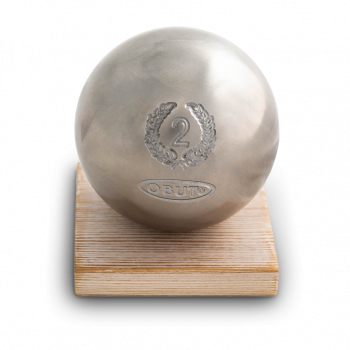 Obut Silver ball trophy for the number 2