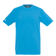 T-Shirt Team - Cyan - Men - XXXS