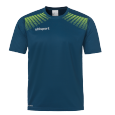 T-Shirt Goal - Petrol/flash Green - Men - S