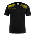T-Shirt Goal - Black/lime Yellow - Men - S