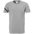T-Shirt Essential Pro - Dark Grey Mélange - Men - S