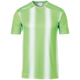 Shortsleeves Stripe 2.0 - Fluo Green/white - Kids - 116