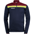 Sweat Offense 23 - Bleu Marine/bordeaux/jaune - Homme