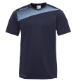 Shortsleeves Liga 2.0 - Navy/sky Blue - Kids - 128