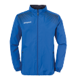 Rain jacket Goal - Azure Blue/navy - Kids - 128