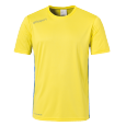 Shortsleeves Essential - Lime Yellow/azure Blue - Men - S