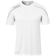 Shortsleeves Stream 22 - White/black - Men - S