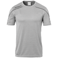 Shortsleeves Stream 22 - Dark Grey Mélange/black - Men - S