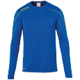 Longsleeves Stream 22 - Azure Blue/lime Yellow - Men - S