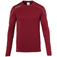 Longsleeves Stream 22 - Burgundy/sky Blue - Men - S