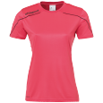 Shortsleeves Stream 22 - Pink/black - Women - XS