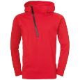 Jacket with hood Essential Pro - Red - Men - S