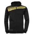 Jacket with hood Liga 2.0 - Black/gold - Men - S