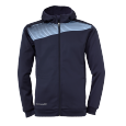 Jacket with hood Liga 2.0 - Navy/sky Blue - Kids - 128